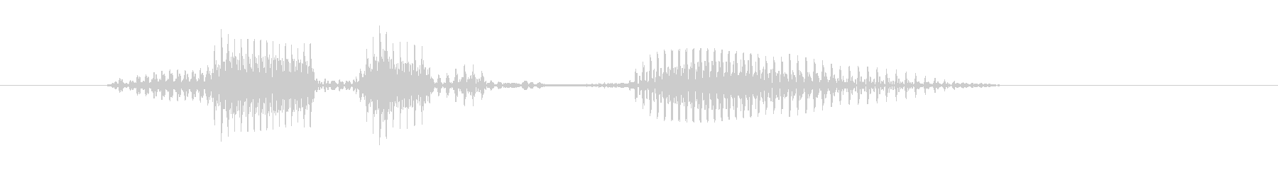 レベル4(ふぉー)の未再生の波形