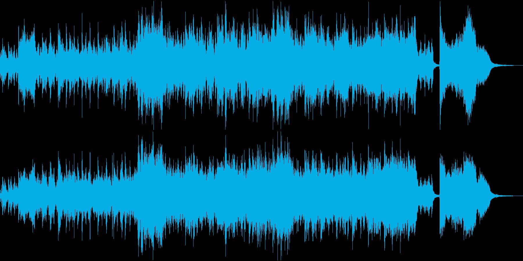 短縮版】清々しく爽やかピアノとストリングの再生済みの波形