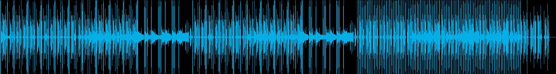 サスペンス・ドキドキ・忍び足・追跡・洋楽の再生済みの波形
