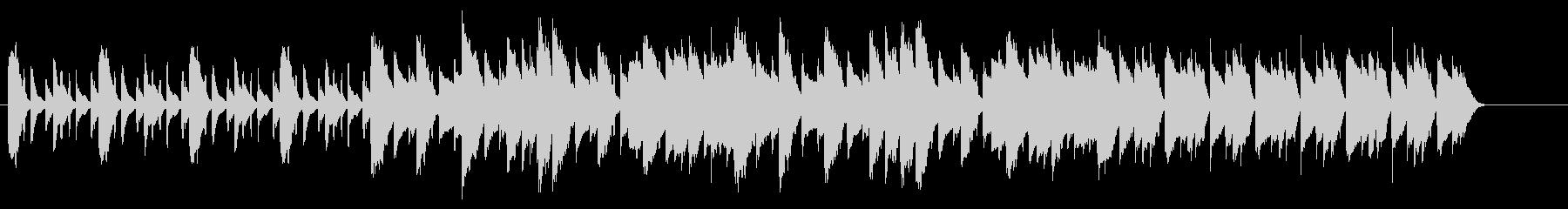 SNS広告 ピアノメイン ミニマル1の未再生の波形