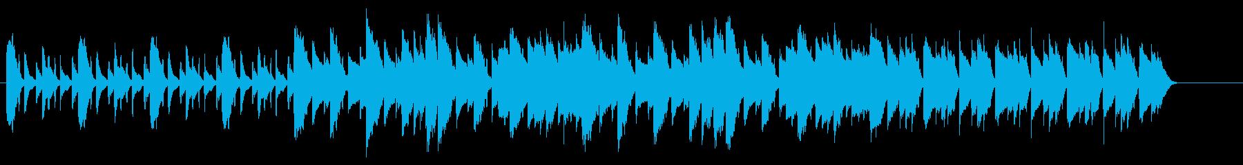 SNS広告 ピアノメイン ミニマル1の再生済みの波形