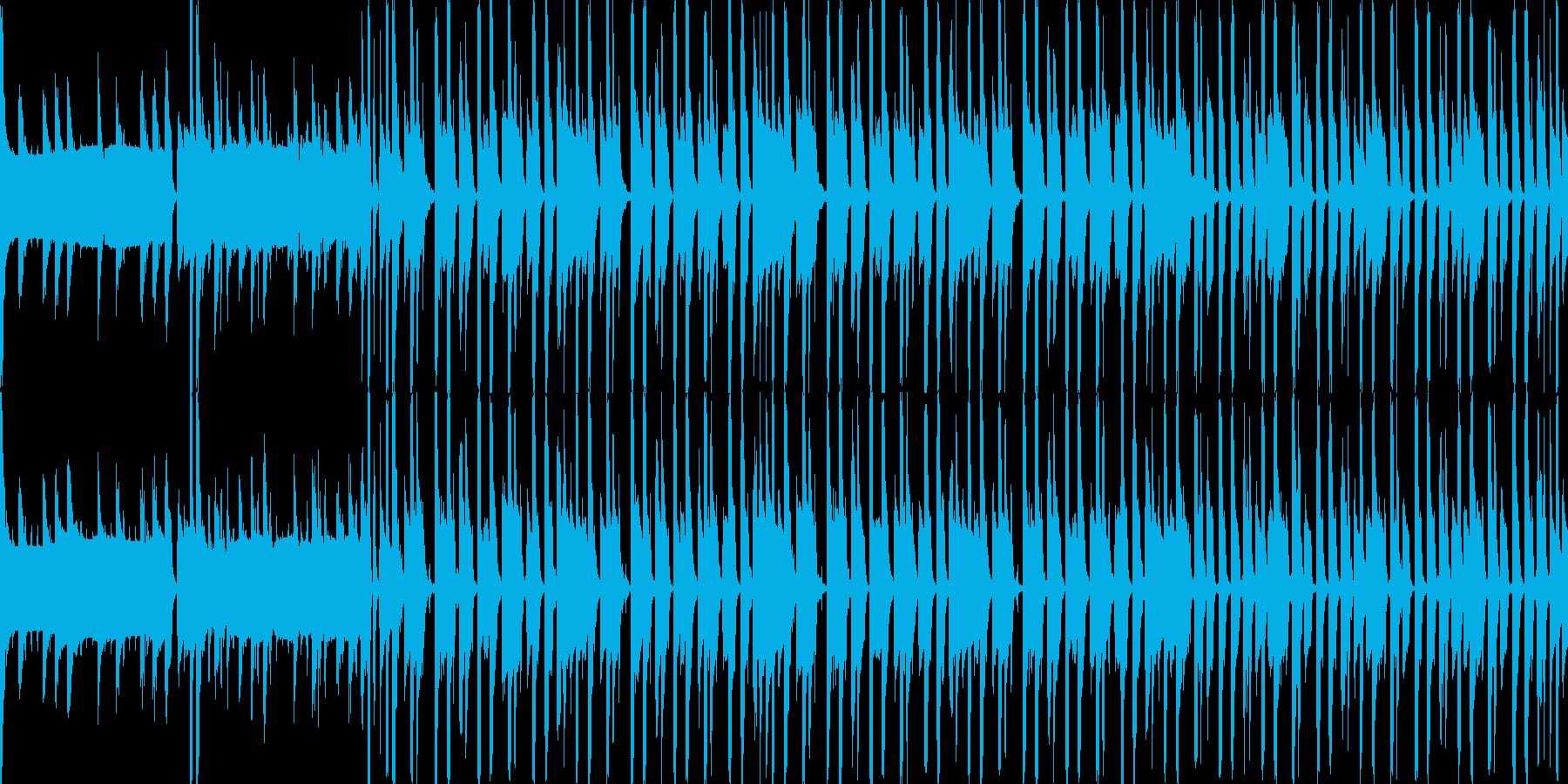 森の中で遊ぶ(Loop対応)の再生済みの波形