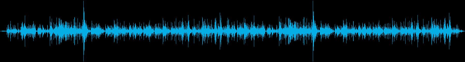 セラミックウィンドチャイム:一定の...の再生済みの波形