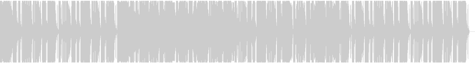 【フューチャーベース】ロング3の未再生の波形