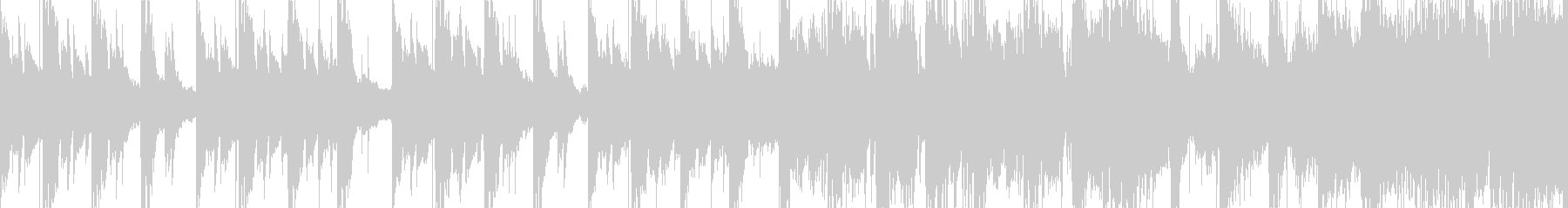 和風物悲し気なループBGMの未再生の波形