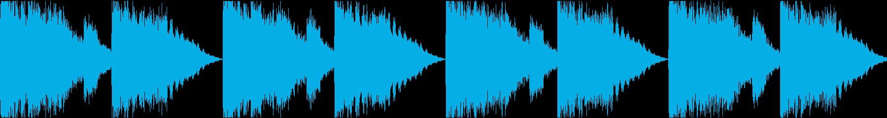 サイレン siren 警報 アラート 5の再生済みの波形