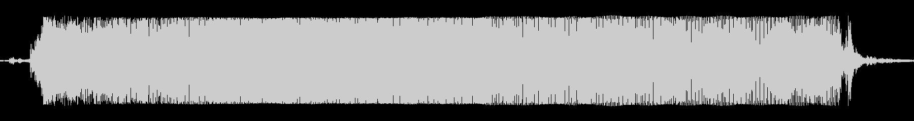 ギターメタルパワーコードoの未再生の波形