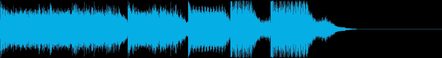 AI メカ/ロボ/マシン動作音 34の再生済みの波形