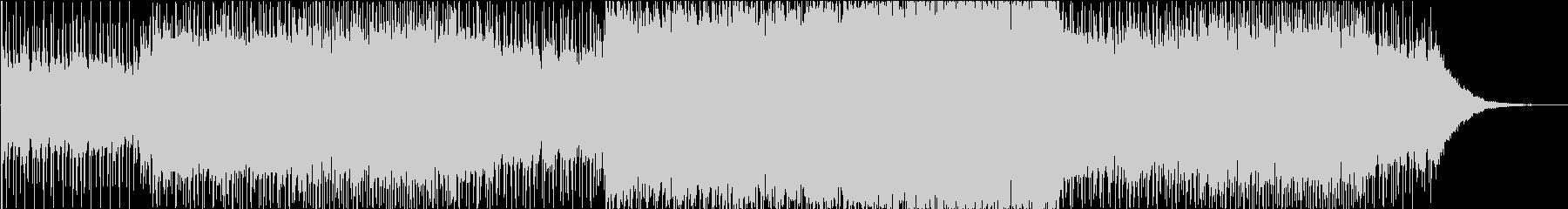 ACTのOPをイメージしたBGMの未再生の波形