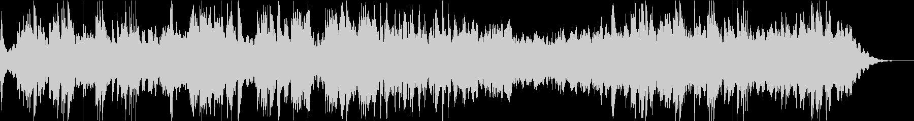 癒しのソルフェジオ周波数によるピアノ曲の未再生の波形