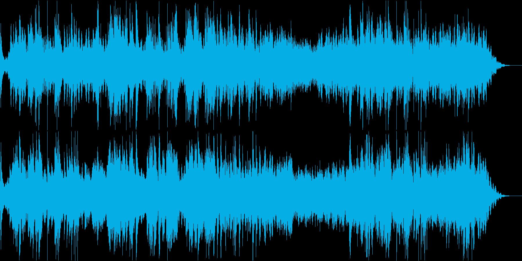 癒しのソルフェジオ周波数によるピアノ曲の再生済みの波形