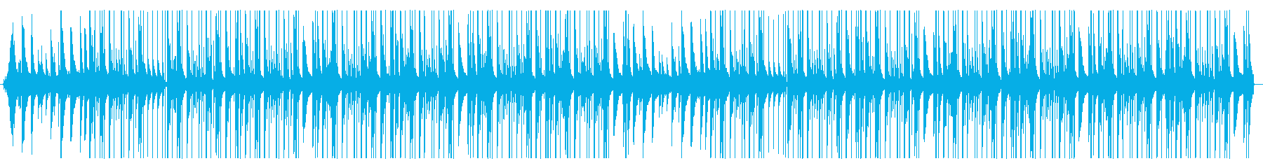ローファイ、チルアウト、ピアノの再生済みの波形