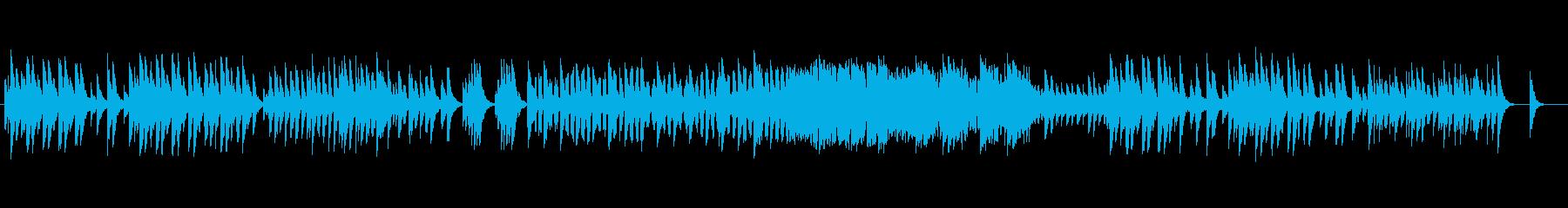 せつなかわいいオルゴール風のメロディの再生済みの波形