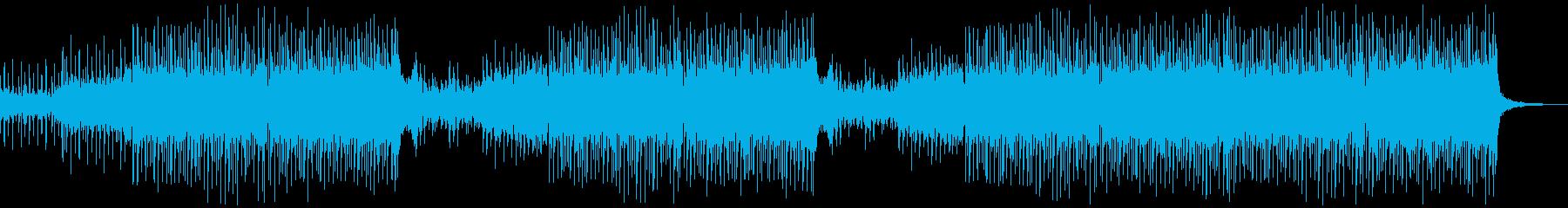 【メロなし】かっこいい和風EDMの再生済みの波形