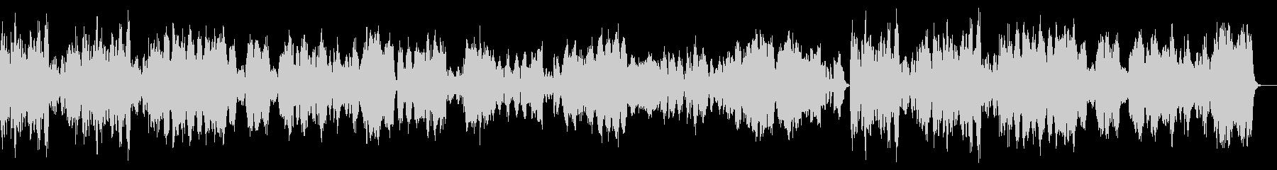 BWV1070/4『メヌエット・トリオ』の未再生の波形
