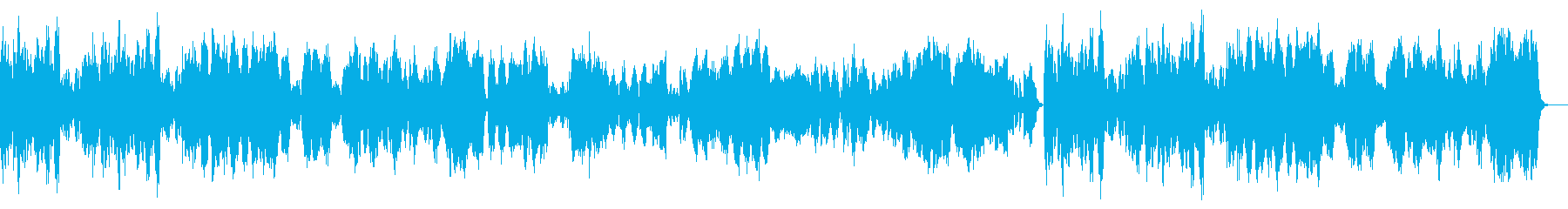 BWV1070/4『メヌエット・トリオ』の再生済みの波形