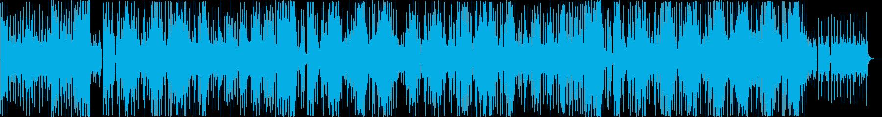 KPOPエキサイティングサックストラップの再生済みの波形