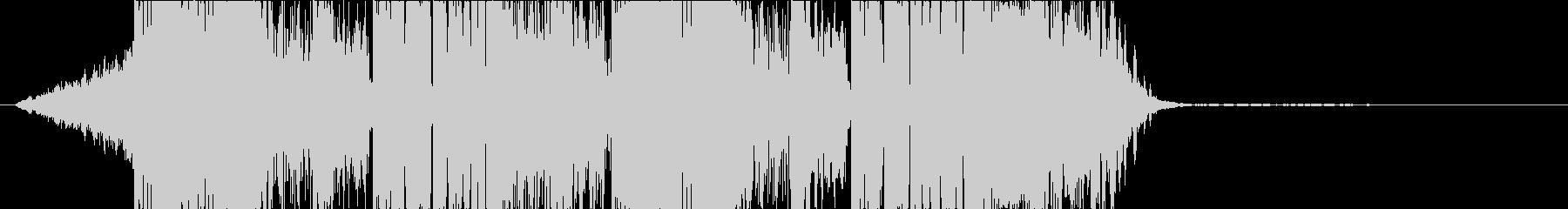 DUBSTEP かっこいい ジングル28の未再生の波形