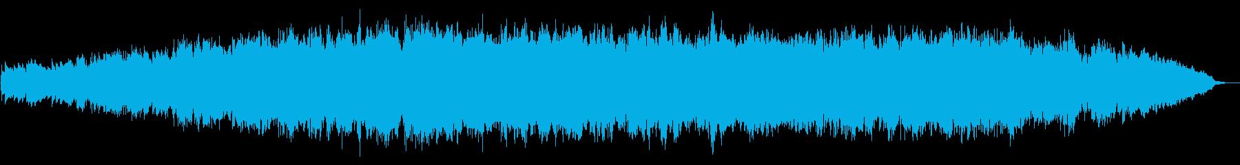 きらびやかでふんわりイメージ販促用BGMの再生済みの波形