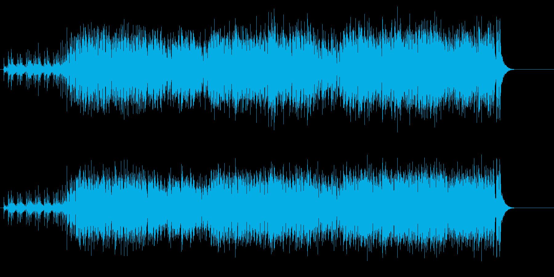ジャジーでグローバルなジャズの再生済みの波形