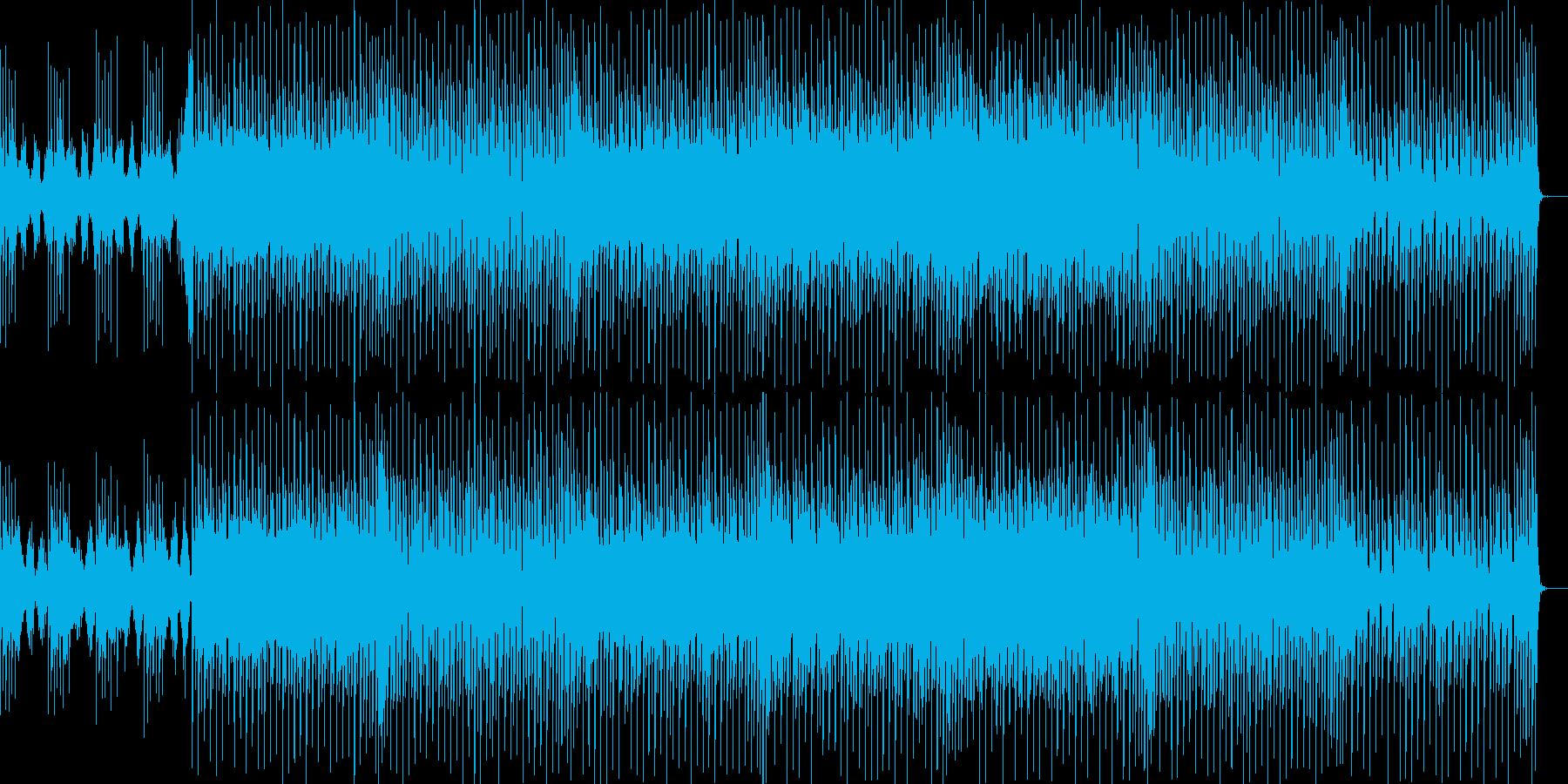 魔法をかけられそうな不思議な雰囲気の曲の再生済みの波形