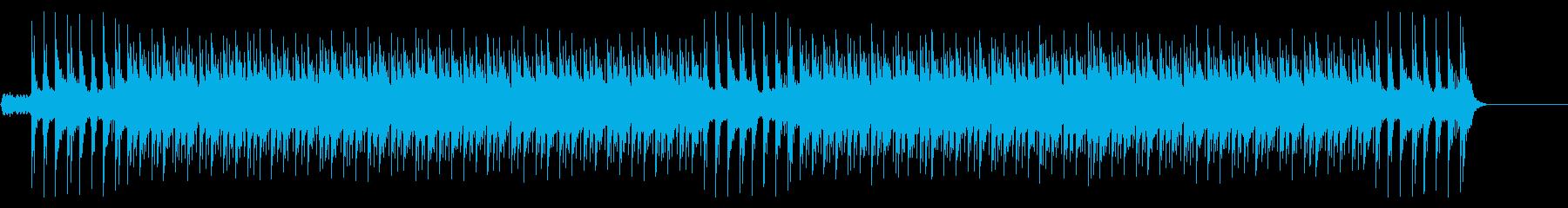 勇ましいバグパイプマーチングバンドの曲の再生済みの波形