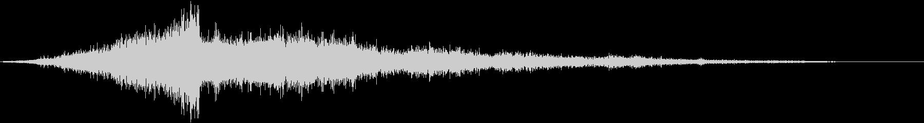 映画・映像用サウンドロゴ (FX)の未再生の波形