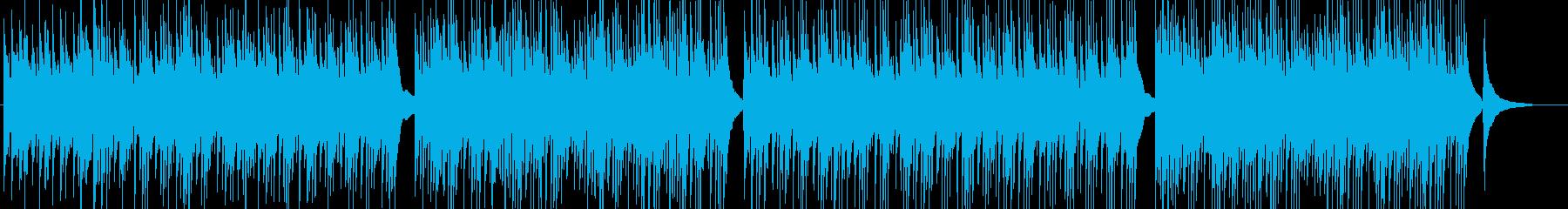 自然・カフェ=オーガニックなギターBGMの再生済みの波形