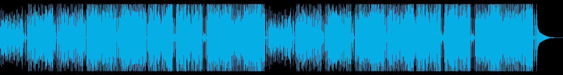 かわいくあかるいアコースティックポップの再生済みの波形