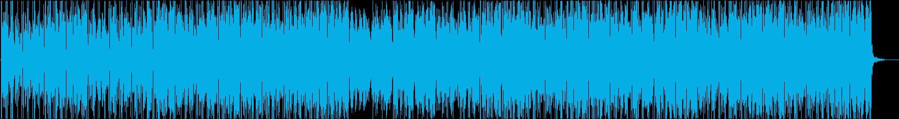 怪しげなエレピ&ブレイクビーツの再生済みの波形