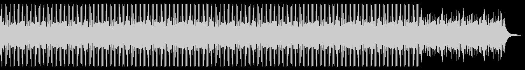 シンセ無ver 新しい朝 爽やか ピアノの未再生の波形