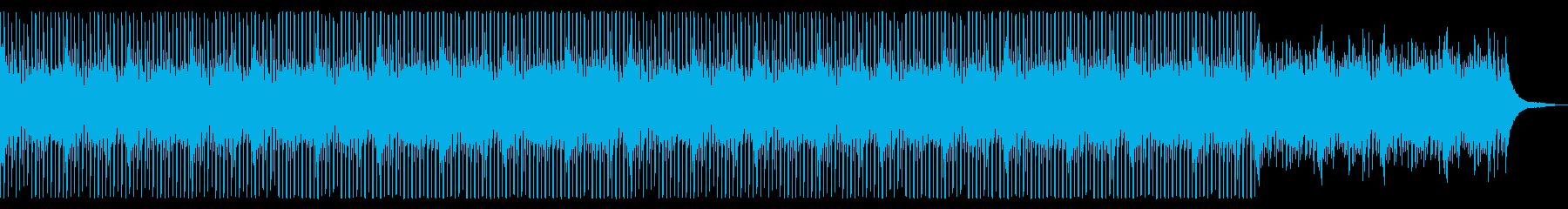 シンセ無ver 新しい朝 爽やか ピアノの再生済みの波形