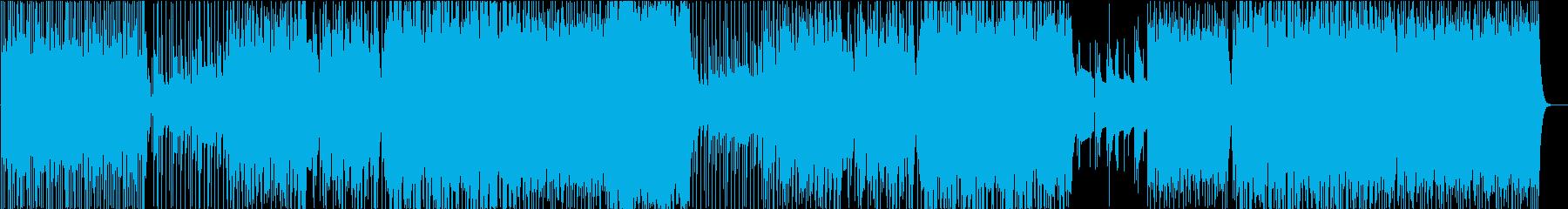 感謝の気持ちを伝える感動的ポップロックの再生済みの波形
