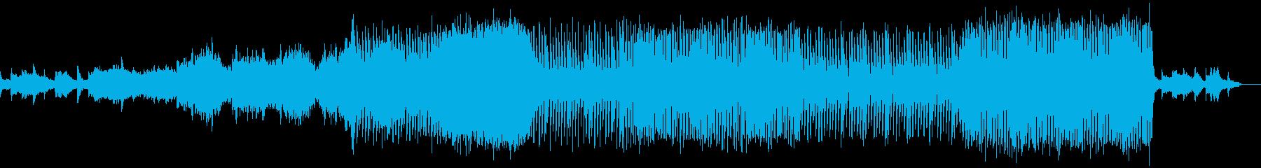 あまり頑張らない前向きな曲の再生済みの波形