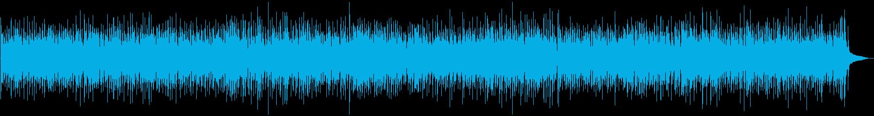 カフェでくつろぐピアノブギの再生済みの波形