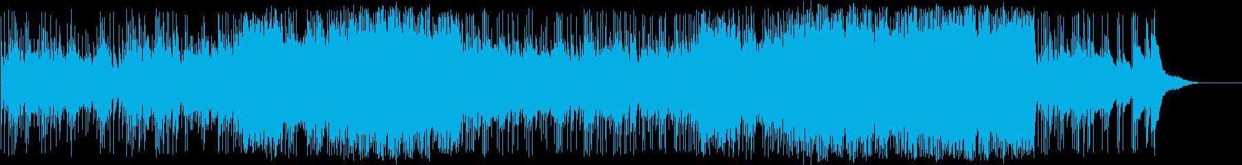 感謝を表現した美しいピアノバラードの再生済みの波形
