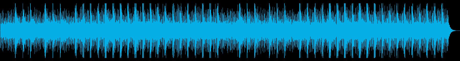 検証番組の問題提起 / ややシリアスな曲の再生済みの波形