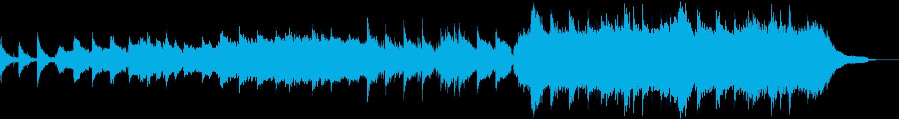 冬の切ないバラード/ピアノとバイオリンの再生済みの波形