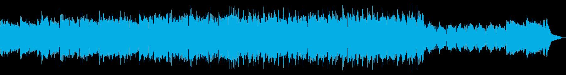 温かい思い出ピアノとギター:フルx1の再生済みの波形