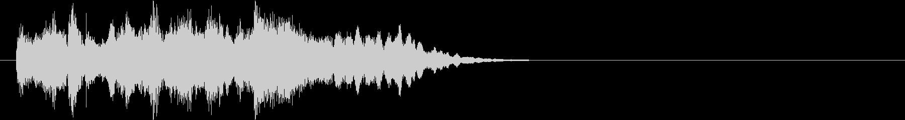 報道 情報 テーマ 場面転換 クイズの未再生の波形
