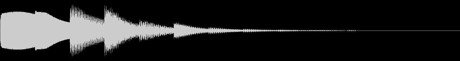 ベルの優しい音、ロゴ、ゲーム、回復の未再生の波形