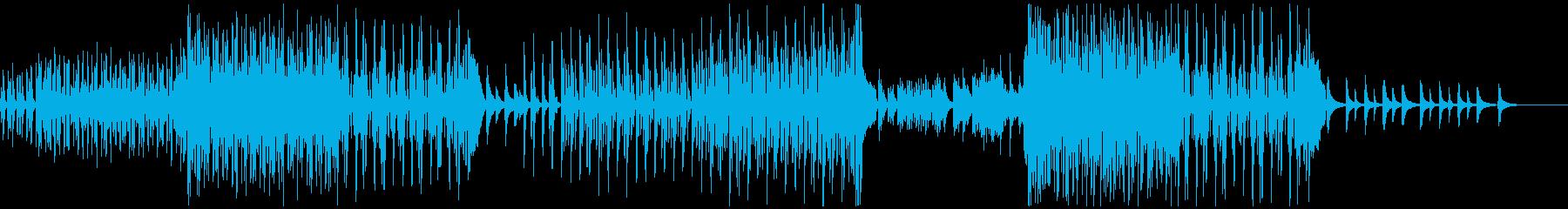 夏の始まりを感じる爽やかなピアノBGMの再生済みの波形