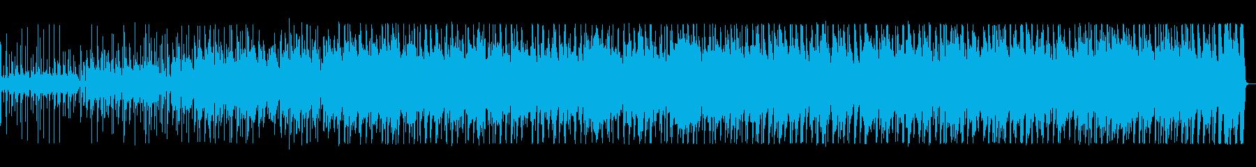 カントリー調の愉快な音楽の再生済みの波形