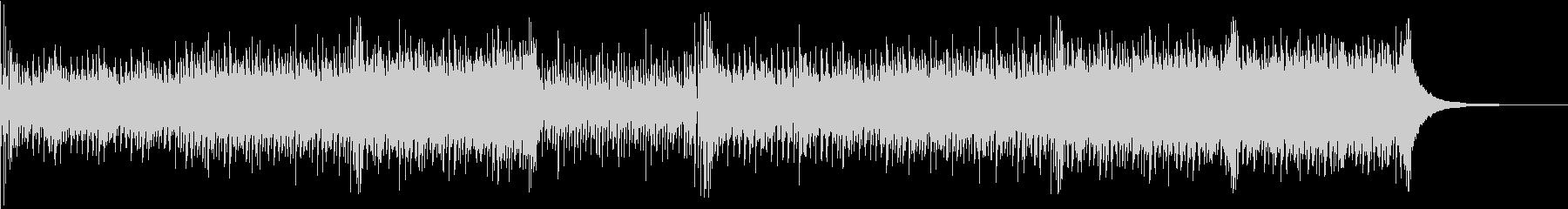 ピアノとアコギが中心の春先ポップスの未再生の波形