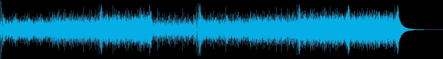 ピアノとアコギが中心の春先ポップスの再生済みの波形