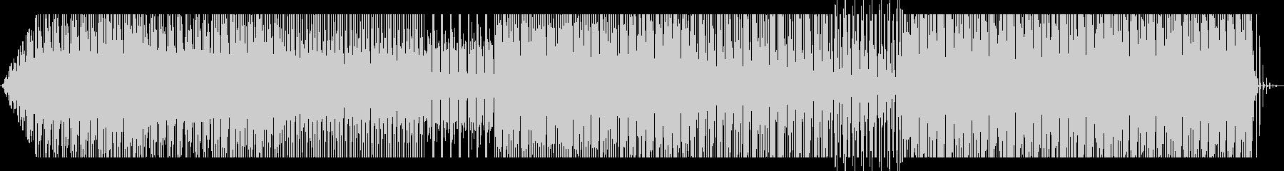 汎用性が高いインダストリアルテクノの未再生の波形