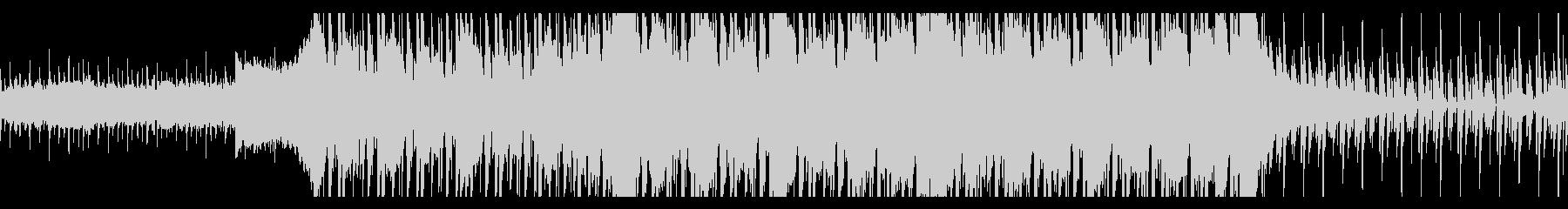 実験的な岩 バックシェイク 積極的...の未再生の波形