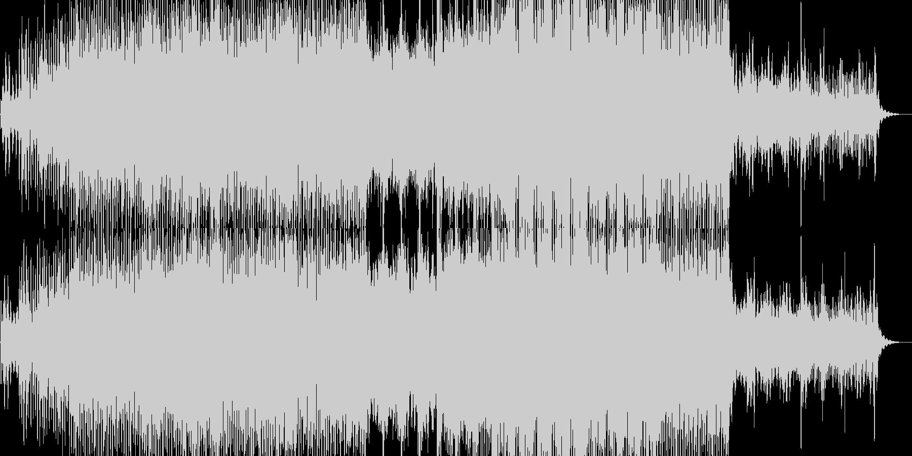 前向きでフレッシュなトランスポップの未再生の波形
