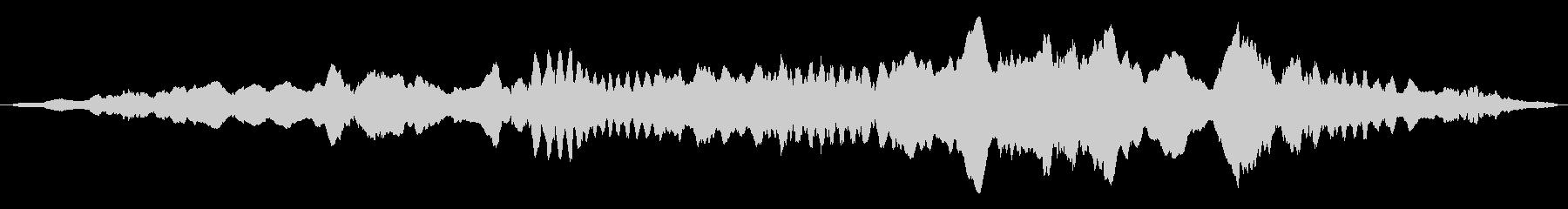 ドローン オルガンドローン01の未再生の波形