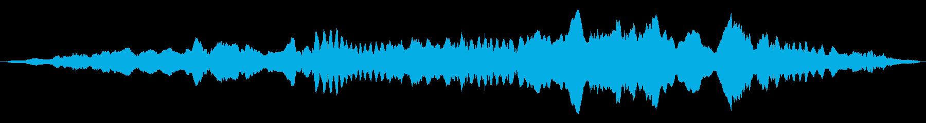 ドローン オルガンドローン01の再生済みの波形